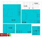Продажа однокомнатная квартира 36.30м2 в ЖК Квартал Новаторов секция ж
