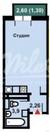 3 300 000 Руб., Продажа квартиры, Одинцово, Белорусская улица, Купить квартиру в Одинцово по недорогой цене, ID объекта - 321619012 - Фото 11