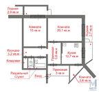 Продажа квартиры, Тверь, Молодежный б-р., Купить квартиру в Твери по недорогой цене, ID объекта - 329255569 - Фото 18