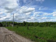 Участок в деревне Скрипово, 10 соток. Свет, дорога. - Фото 1
