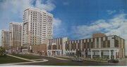 Новостройка, 2-комнатная квартира 57,73, Купить квартиру в Белгороде по недорогой цене, ID объекта - 317345715 - Фото 1