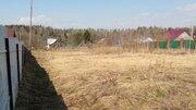 Участок 18 соток в д.Костюнино Щелковского района 33 км от МКАД - Фото 1