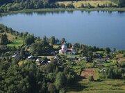 Продаю земельный участок 16.5 соток в д. Покровское на берегу озера. - Фото 1