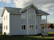Жилой зимний дом 186 кв.м. 14 соток, кп 1 км до большого живописного . - Фото 1