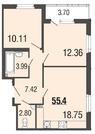 Продам 3к. квартиру. Вишневая ул. к.4-12