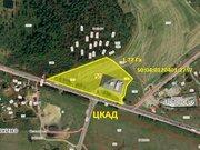 Земельный участок,1 линия цкад, общей площадью 1,77 га, в д. Лотосово