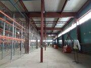 Теплый склад 550 м2 с 2 пандусами и офисом в Машково в 11 км от МКАД