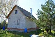 Кирпичный дом в жилой деревне на участке 15 соток. Боровск.