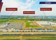 Продаются земли пром.назначения в логистическо-складском парке Ворсино - Фото 1