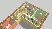 Продам 3-комн. студию свободной планировки 75 м2, Купить квартиру в Нижнем Новгороде по недорогой цене, ID объекта - 317799946 - Фото 3