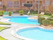 3-комнатная квартира в Испании,2 спальни, кондиционер, бассейн, парк