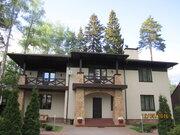 Продается 2 этажный роскошный коттедж в г. Пушкино м-н Клязьма - Фото 1
