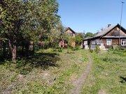 Земельный участок с ветхой частью дома в д. Рычково. - Фото 1
