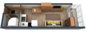 Студия в новом жилом комплексе у метро Парнас - Фото 3