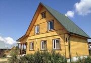 Новый дом 125 кв.м, с участком 8 сот, с коммуникациями, рядом р.Волга.
