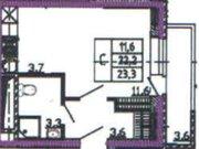 Продажа однокомнатной квартиры в новостройке на улице Кривошеина, ., Купить квартиру в Воронеже по недорогой цене, ID объекта - 320573381 - Фото 1