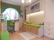 Уютная 3-х комнатная квартира с евроремонтом