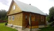 Продается зимняя дача из бревна с баней Верхнее пикалово Чехов - Фото 1