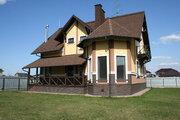 Загородный дом 250 кв м с гаражом, Киевское ш, 19 км от МКАД, охрана - Фото 1