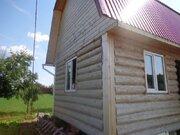 Земельный участок 12 соток с бревенчатым домом 6*4 и мансардой в д. . - Фото 1