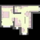 Двухкомнатная квартира студия в мкрне Новая Жизнь - Фото 3