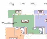 Адлер, Кургородок, угловая 25кв.м., Купить квартиру в Сочи по недорогой цене, ID объекта - 321597833 - Фото 2
