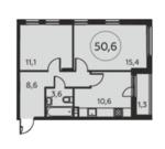 Продам 2-к квартиру, Коммунарка п, жилой комплекс Москва а101 к20/2 - Фото 1
