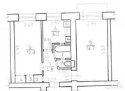 2-к квартира, 44.3 м, 5/5 эт.