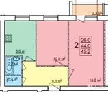 Новая квартира с индивидуальным отоплением в п.Щедрино от подрядчика, Купить квартиру в новостройке от застройщика в Ярославле, ID объекта - 324830580 - Фото 33