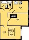 Продается двухкомнатная квартира в поселке Ильичево - Фото 4