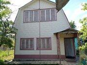 2-эт теплый дом СНТ пэмз № 10, Гаражный пр-д, 15 км от МКАД, прописка. - Фото 1