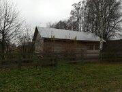 Новый бревенчатый дом 80 м2 с баней 30 м2 в тихой деревушке - Фото 1