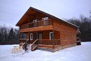 Новый дом из бруса 200 кв.м с коммуникациями, в лесу в 82 км от МКАД
