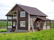 Новый дом из бруса 160 кв.м в жилой деревне в 79 км от МКАД