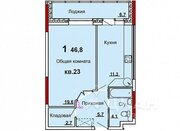 Продаю1комнатнуюквартиру, Тула, улица Кауля, 23, Купить квартиру в Туле по недорогой цене, ID объекта - 323348390 - Фото 1