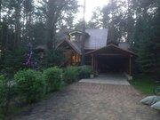 Дом на берегу реки Волга, в сосновом бору. - Фото 1