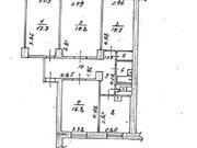 Продажа четырехкомнатной квартиры на переулке Кулакова, 6 в ., Купить квартиру в Новокузнецке по недорогой цене, ID объекта - 319828420 - Фото 1