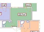 24,9кв.м. Адлер, Кургородок, Купить квартиру в Сочи по недорогой цене, ID объекта - 321597836 - Фото 1