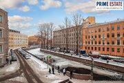Настоящая Петербургская 2к квартира с видом на кан Грибоедова, Купить квартиру в Санкт-Петербурге по недорогой цене, ID объекта - 317323234 - Фото 10