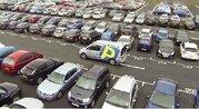 Парковочные места в аэропорту Гатвик, Лондон