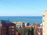 Комфортная квартира в Новом Сочи с видом на море