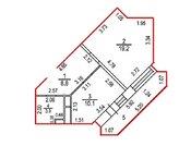 Продается однокомнатная квартира в г.Ивантеевка
