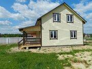 """Дом 2-х этажный 140м2, брус, 8 соток земли кп """"Тишнево"""", Боровск - Фото 4"""