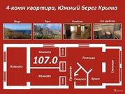 Продается квартира Респ Крым, г Ялта, пгт Санаторное, ул Гагарина, д .