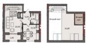 Однокомнатная квартира с потолками в 6 метров - Фото 1