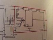 Продается трехкомнатная квартира в кирпичном доме, общая площадь 52 .