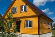 Новый дом в деревне Бережки