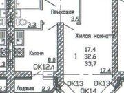 Продажа однокомнатной квартиры в новостройке на улице Кривошеина, ., Купить квартиру в Воронеже по недорогой цене, ID объекта - 320574476 - Фото 1