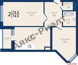 Продажа квартиры, Краснодар, Ул. Береговая - Фото 1