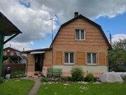 Кирпичный двухэтажный дом на участке 5,1 сот. СНТ Факел, г.о. Подольск - Фото 1